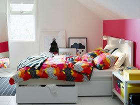 卧室收纳有新招 12款宜家收纳床图片