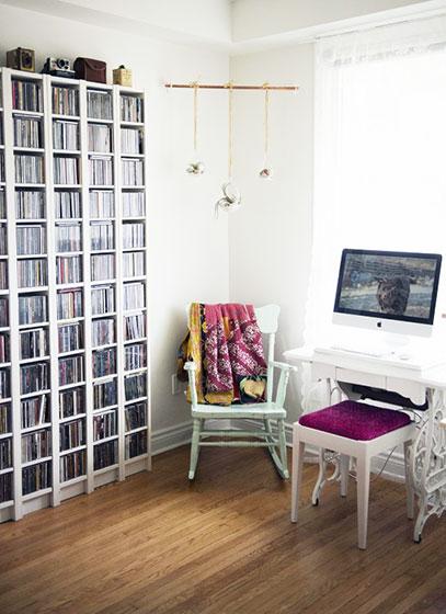 小户型空间效果图书房设计