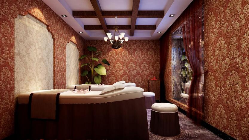 东南亚风格美容院装修