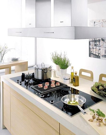 清爽厨房灶具设计