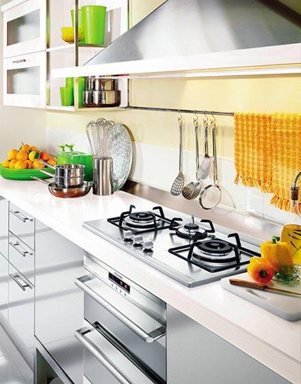 内嵌式厨房灶具设计
