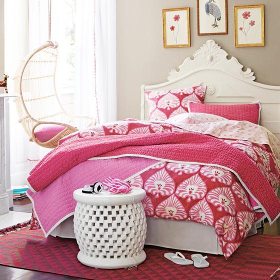 可爱卧室床尾凳