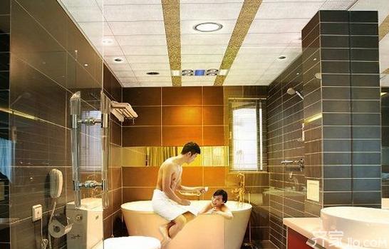 卫生间集成吊顶浴霸如何安装?