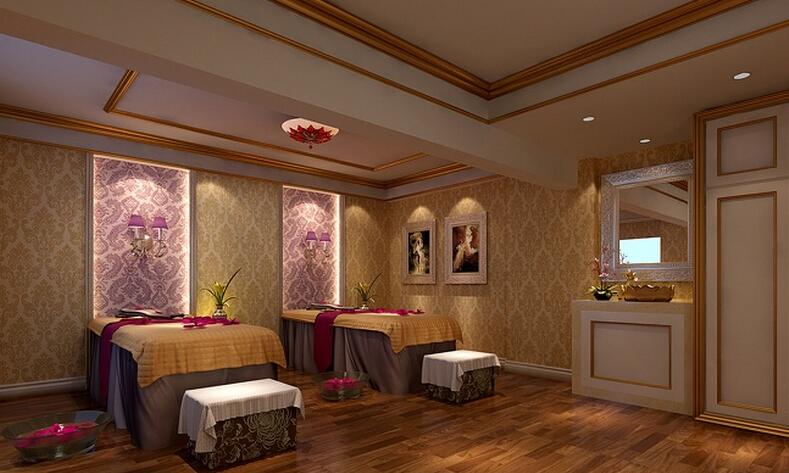美容院室内设计图片