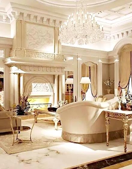 大气欧式风格客厅设计