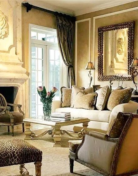 优雅复古欧式客厅