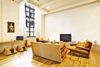 loft公寓装修效果图客厅设计