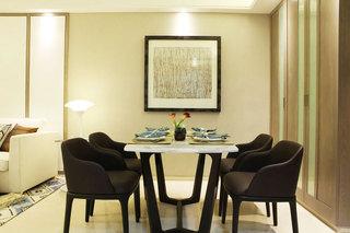 现代简约装修效果图客厅餐厅设计