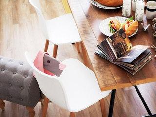 75平米乡村田园风格餐桌设计