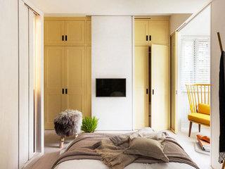 75平米乡村田园风格卧室墙面设计