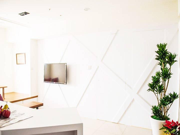 现代简约风格小户型50平米设计图纸