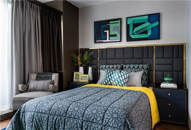 时尚质感卧室效果图