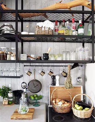 整洁清爽厨房设计