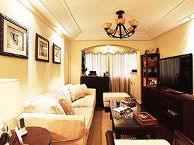 舒适的家温馨的家  美式三居室让生活更美好