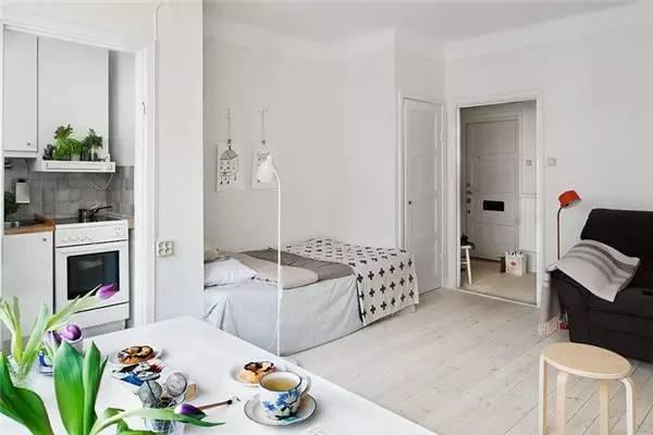 [小户型装修]  户型必备丨卧室客厅一体化图片