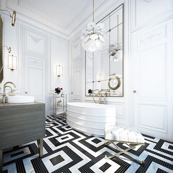 超奢华公寓卫生间设计