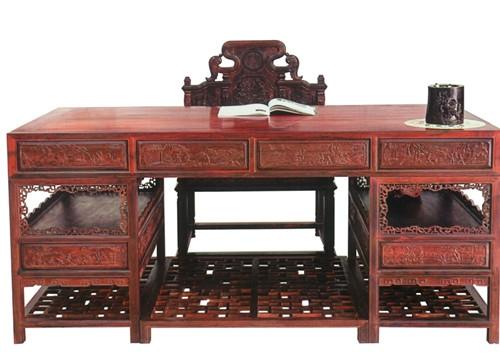 红木办公桌风水
