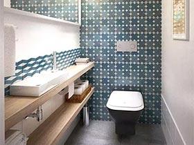 诠释浓缩精华 12个小而美的卫浴间设计