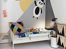 创意墙面设计 14款儿童房手绘墙