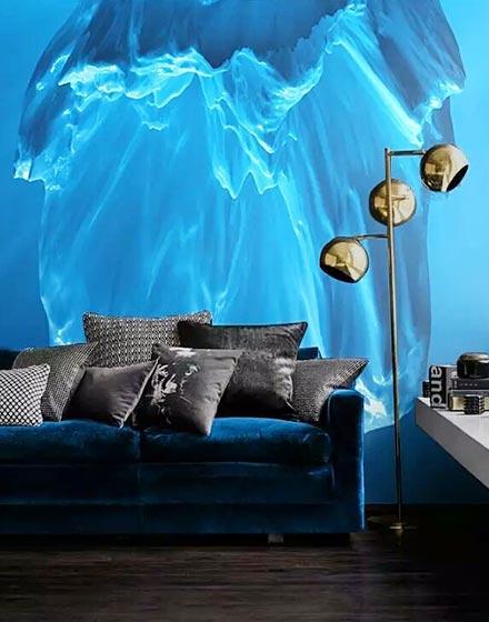 魔幻3D客厅背景墙