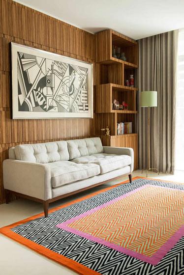 简约风格米色沙发效果图