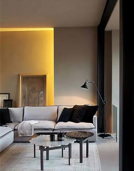 艺术灯光设计暖客厅