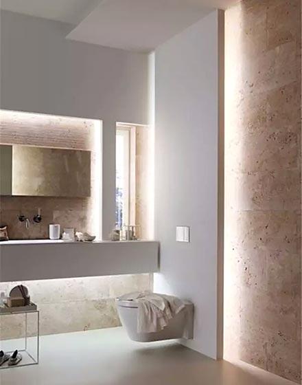 时尚卫浴间灯光设计