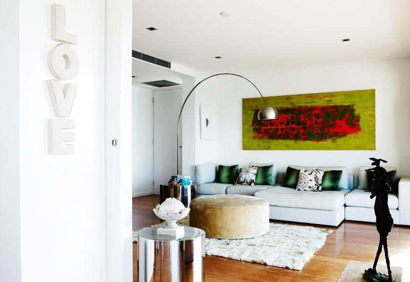 14图海边别墅客厅沙发设计