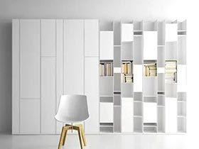 让格子飞起来 12个格子家具墙设计
