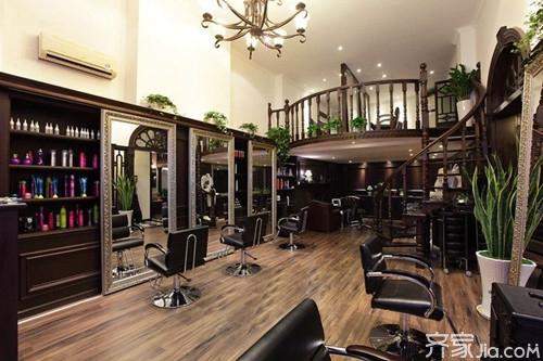 资讯 学堂 装修施工 施工流程 正文  吧台是美发店服务中心,消费者图片