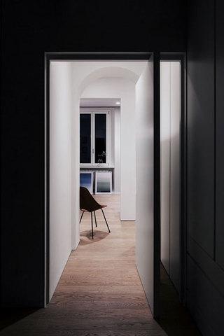 现代简约风格单身公寓时尚60平米装修效果图