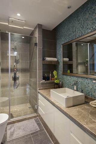 现代简约风格时尚90平米卫生间装修效果图