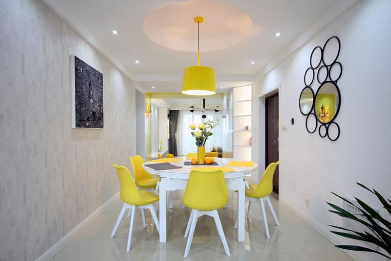 140平现代简约装修餐厅设计