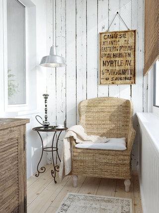 小阳台改书房效果图设计