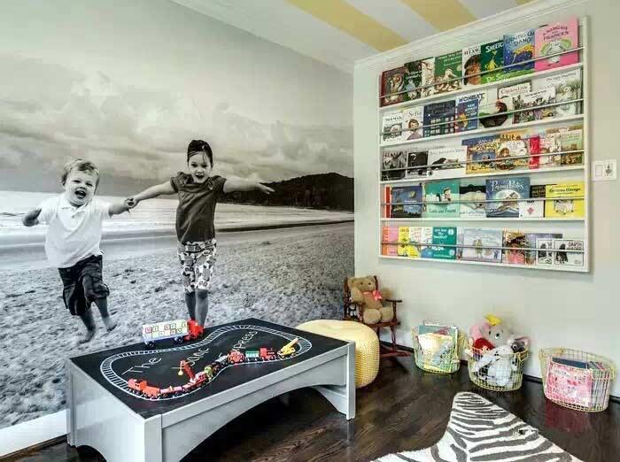 儿童房照片墙装修效果图
