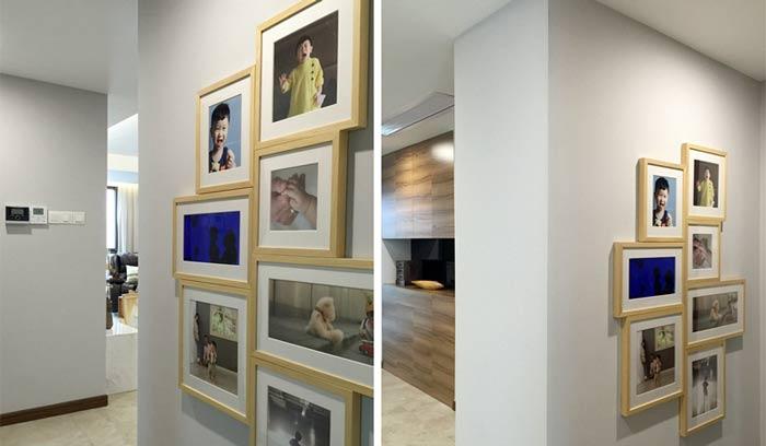 照片墙装修效果图