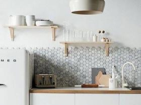 擱架收納無死角 11個廚房裝修效果圖設計