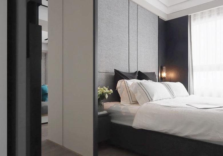 现代风格卧室图片_齐家网装修效果图图片
