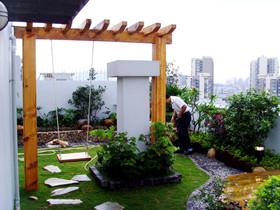 入户花园设计注意事项 家中的绿色花园