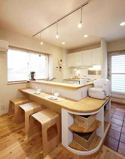 木质清新日式餐厅装修图