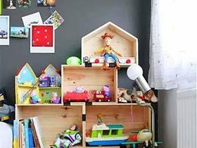 收纳也走童趣风 12个清爽儿童房装修图片