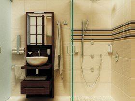 空间怎能不够用  11个卫生间装修效果图