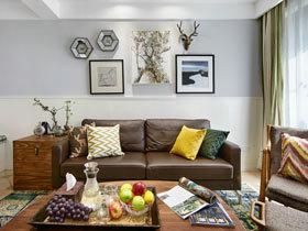 温馨的北欧风  这样的三居室装修你肯定喜欢