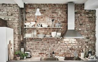 北欧风格两居室厨房效果图