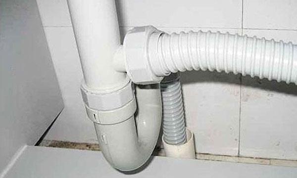 洗菜盆下水管安装图_下水管漏水怎么办