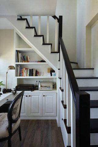 阁楼楼梯装修效果图大全2016图片