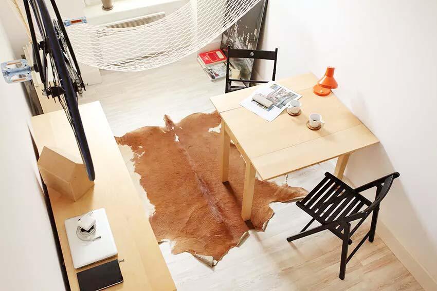 13平米小户型loft餐厅设计图