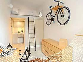 这么小怎么住? 13平米超小户型loft装修