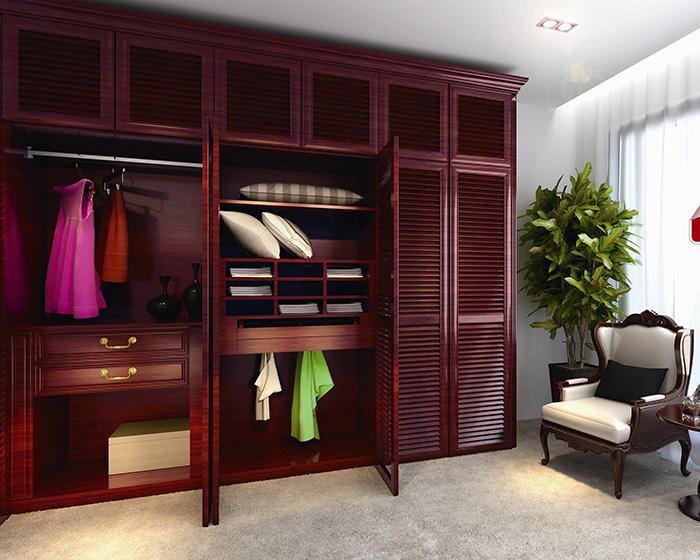 卧室衣柜设计图