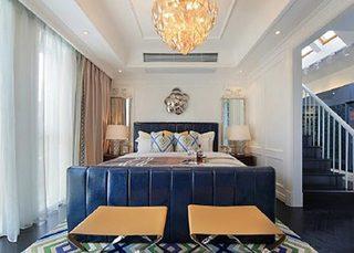 美式新古典别墅卧室效果图